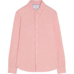 Koszula oxford z długim rękawem. Czerwone koszule męskie marki Pull&Bear, m. Za 55,90 zł.