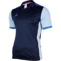 Adidas Koszulka męska Volzo15 granatowa r. XS (S08962). Białe koszulki sportowe męskie marki Adidas, l, z jersey, do piłki nożnej. Za 32,94 zł.