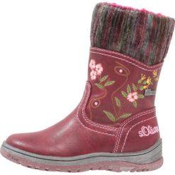 S.Oliver RED LABEL Śniegowce dark red. Czerwone buty zimowe damskie marki s.Oliver RED LABEL, z materiału. W wyprzedaży za 131,45 zł.