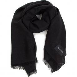 Szal CALVIN KLEIN - Sparkling Scarf  K60K604908 Black 001. Czarne szaliki damskie marki Calvin Klein, z materiału. Za 279,00 zł.