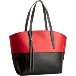Torebka CREOLE - K10193 Czarny Czerwony. Czarne torebki klasyczne damskie Creole, ze skóry, duże. W wyprzedaży za 249,00 zł.