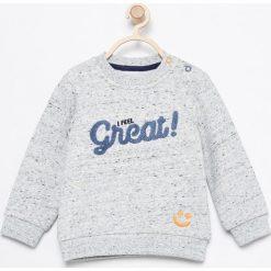 Bluza z aplikacją - Jasny szar. Szare bluzy niemowlęce marki Reserved, z aplikacjami. Za 49,99 zł.