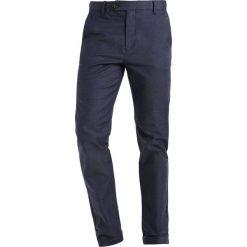 Chinosy męskie: Burton Menswear London OXFORD Spodnie materiałowe blue