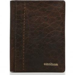 Strellson - Portfel skórzany. Brązowe portfele męskie Strellson, z materiału. Za 219,90 zł.