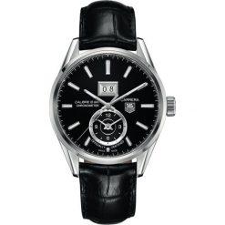 ZEGAREK TAG HEUER CARRERA WAR5010.FC6266. Czarne zegarki męskie marki KALENJI, ze stali. Za 16820,00 zł.