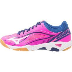 Buty sportowe damskie: Mizuno WAVE GHOST Obuwie do piłki ręcznej pink glow/white/true blue