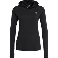 Puma RUN  Koszulka sportowa black. Czarne topy sportowe damskie marki Puma, xs, z elastanu. W wyprzedaży za 209,30 zł.