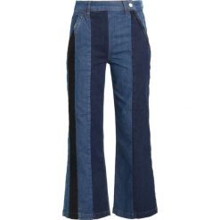 Boyfriendy damskie: 2nd Day FLIP STRIPE Jeansy Bootcut bright blue