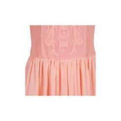 Sukienki krótkie Morgan  RIDITA. Czerwone sukienki hiszpanki Morgan, z krótkim rękawem, mini. Za 231,20 zł.