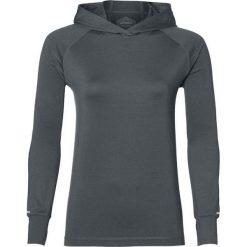 Asics Bluza damska Thermopolis LS Hoodie szara r. L (154548 7023). Niebieskie bluzy sportowe damskie marki Asics, m, z elastanu. Za 212,62 zł.
