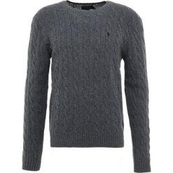Polo Ralph Lauren Sweter dark charcoal. Szare swetry klasyczne męskie Polo Ralph Lauren, m, z kaszmiru, polo. Za 799,00 zł.
