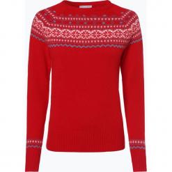 Marie Lund - Sweter damski, czerwony. Czerwone swetry klasyczne damskie Marie Lund, l, z wełny. Za 179,95 zł.