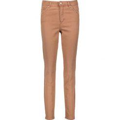 """Odzież damska: Dżinsy """"Audrey"""" w kolorze jasnobrązowym"""