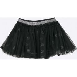 Blukids - Spódnica dziecięca 68-98 cm. Czarne spódniczki dziewczęce Blukids, z bawełny, mini. W wyprzedaży za 59,90 zł.