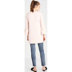 Płaszcze damskie pastelowe: ONLY ONLSIA FRILL LIGHT COAT Płaszcz wełniany /Płaszcz klasyczny rose quartz melange