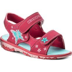Sandały dziewczęce: Sandały KAPPA – Blossom K 260593K Pink/Turkis 2266
