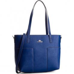 Torebka WITTCHEN - 86-4E-429-7 Granatowy. Niebieskie torebki klasyczne damskie Wittchen, ze skóry, duże. W wyprzedaży za 469,00 zł.