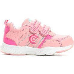 Różowe Buty Sportowe Bonny. Czerwone buciki niemowlęce chłopięce Born2be, ze skóry, z okrągłym noskiem. Za 49,99 zł.