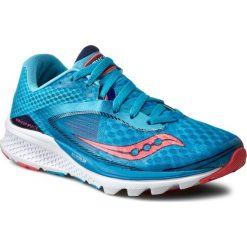 Buty SAUCONY - Kinvara 7 S10298-2 Blu/Nvy/Cor. Niebieskie buty do biegania damskie Saucony, z materiału. W wyprzedaży za 329,00 zł.