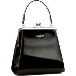 Torebka BELLUCCI - R-110 Czarny Lakier. Czarne torebki klasyczne damskie marki Bellucci. W wyprzedaży za 209,00 zł.