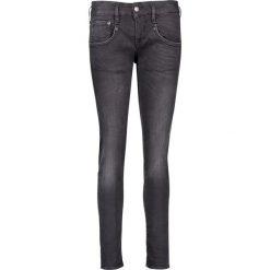 """Spodnie z wysokim stanem: Dżinsy """"Shyra"""" - Slim fit - w kolorze antracytowym"""