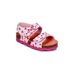 Sandały Dziecko  Kickers  SUMMERKRO. Niebieskie sandały dziewczęce marki Kickers, z kauczuku, na sznurówki. Za 111,30 zł.