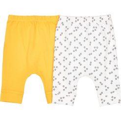 Spodnie niemowlęce: Szarawary 2 pary wzorzyste + gładkie – 0-24 mies.