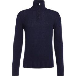 Swetry klasyczne męskie: BOSS Orange ALMORE Sweter dark blue
