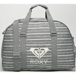 Roxy - Torba. Szare torebki klasyczne damskie marki Roxy, w paski, z materiału. Za 189,90 zł.