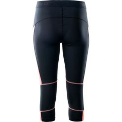 IQ Damskie legginsy Eira WMNS Black/Shell Pink r.L. Czarne legginsy sportowe damskie IQ, l. Za 46,53 zł.