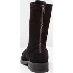 Buty zimowe damskie: Pavement ASTRID Kozaki sznurowane black
