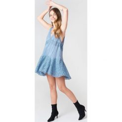 Sukienki: Free People Bieliźniana sukienka Anty Party – Blue