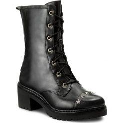 Botki MICHAEL KORS - Cody Boot 40F7CDMB9L Black. Czerwone botki damskie na obcasie marki Michael Kors, ze stali. W wyprzedaży za 699,00 zł.
