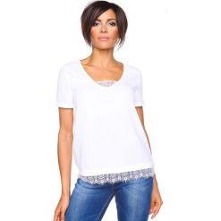 """T-shirty damskie: Koszulka """"Nadine"""" w kolorze białym"""