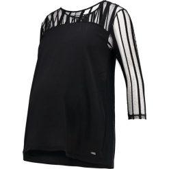 Bluzki asymetryczne: bellybutton Bluzka z długim rękawem black