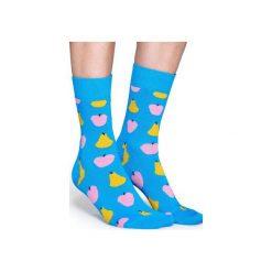 Skarpetki Happy Socks  FRU01-6000. Szare skarpetki męskie marki Happy Socks, z bawełny. Za 24,43 zł.