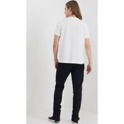 T-shirty męskie: Champion Reverse Weave CLASSIC APPLIQUE TEE Tshirt basic white