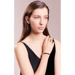 Biżuteria i zegarki: Tory Burch LOGO STUD HINGE BRACELET Bransoletka silver