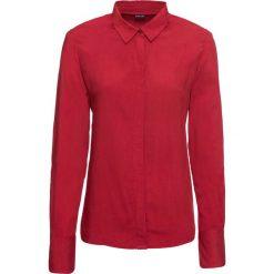 Bluzka bonprix ciemnoczerwony. Czerwone bluzki wizytowe marki OLAIAN, s, z materiału. Za 74,99 zł.