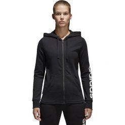 Adidas Bluza damska Essentials czarna r. XS (S97076). Czarne bluzy sportowe damskie marki DOMYOS, z elastanu. Za 168,43 zł.