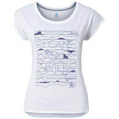 Odlo Koszulka damska Tebe biała r. XS (347651). T-shirty damskie Odlo, xs. Za 128,74 zł.