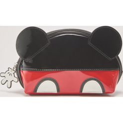 Kosmetyczka Mickey Mouse - Wielobarwn. Czarne kosmetyczki damskie House, z motywem z bajki. Za 35,99 zł.