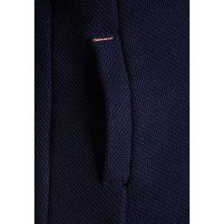 Bench BONDED HOODY Kurtka z polaru maritime blue. Szare kurtki chłopięce marki Bench, z bawełny, z kapturem. Za 259,00 zł.