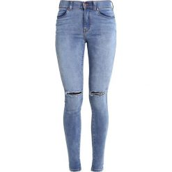 Dr.Denim LEXY Jeans Skinny Fit light stone destroyed. Szare boyfriendy damskie Dr.Denim. Za 229,00 zł.