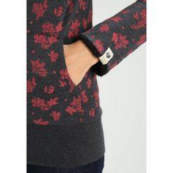 Odzież damska: Ragwear CARA ZIP ORGANIC Bluza rozpinana black melange