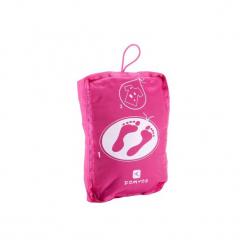 Torba fitness PTWO. Czerwone torebki klasyczne damskie DOMYOS, z materiału. Za 19,99 zł.
