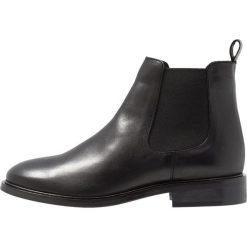 Bianco CLASSIC CHELSEA Ankle boot black. Czarne botki damskie skórzane marki Bianco. Za 509,00 zł.