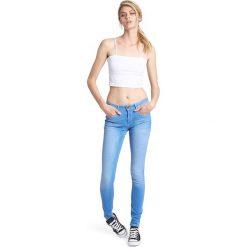 """Spodnie z wysokim stanem: Dżinsy """"Lorraine"""" w kolorze niebieskim"""