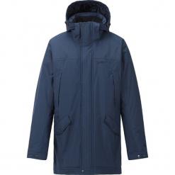 """Kurtka funkcyjna """"Leroy"""" w kolorze granatowym. Czarne kurtki męskie przeciwdeszczowe marki B'TWIN, m, z materiału. W wyprzedaży za 336,95 zł."""