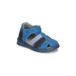 Sandały Dziecko  Citrouille et Compagnie  FRINOUI. Niebieskie sandały chłopięce Citrouille et Compagnie. Za 149,00 zł.